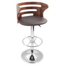 Cosi Adjustable Barstool in Brown