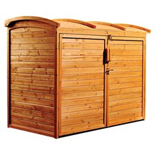 Refuge Storage Shed in Natural