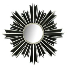 Arlo Sunburst Wall Mirror in Pewter