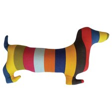 Doxie Silhouette Lumbar Pillow
