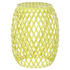 Steve Garden Stool in Yellow