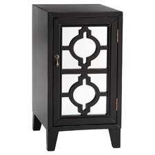 Urbana Mirrored Cabinet in Black