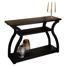 Saralin Console Table in Black