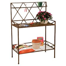 Potting Bench in Brown