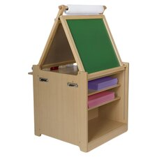 Mini Picasso Desk to Easel Art Cart