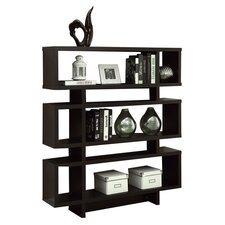 Garron Bookcase in Cappuccino