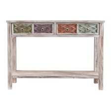 Denison Console Table in White Wash