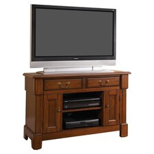 "Aspen 44"" TV Stand in Rustic Cherry"