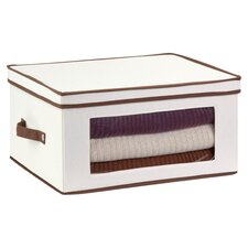 Window Storage Box in White