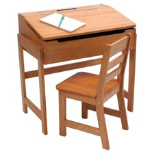 Kids' Newbury Desk & Chair in Pecan