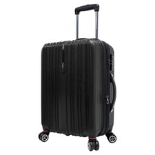 Tasmania Expandable Suitcase in Black