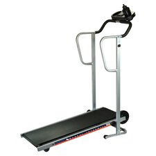 Easy Up Manual Treadmill in Black