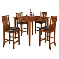 Silverton 5 Piece Dining Set in Oak