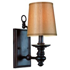 Transitional 1 Light Wall Sconce in Bronze