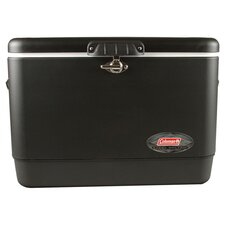 Steel Belted Heavy Duty Cooler in Black
