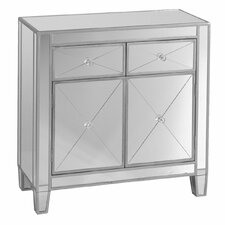 Hamilton Mirrored Cabinet in Silver