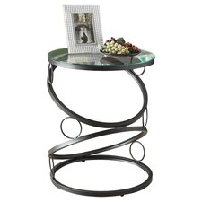 Huahine End Table in Black