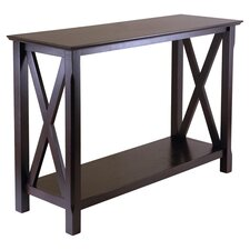 Xola Console Table in Cappuccino