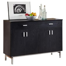 Marion Sideboard Buffet in Black