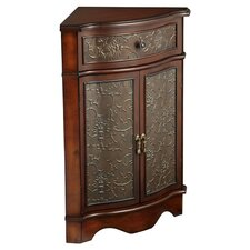 Hilldale Corner Cabinet in Walnut