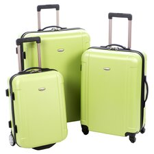 Escape 3 Piece Luggage Set in Green