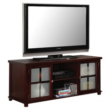 "48"" TV Stand in Dark Cherry"