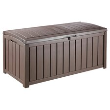 Glenwood Deck Storage Box in Chocolate
