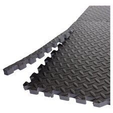 Anti Microbial Puzzle Mat in Black