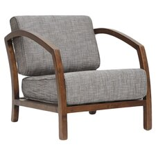 Velda Arm Chair in Gray