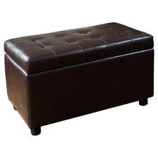 Cosmopolitan Storage Bench in Dark Brown