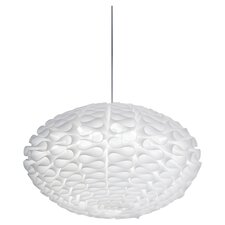 Cerebro 1 Light Pendant in White