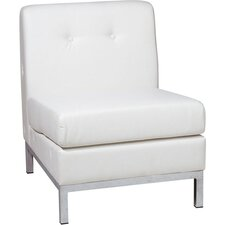 Wall Street Slipper Chair in White