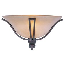 Alessandria 1 Light Wall Sconce in Bronze