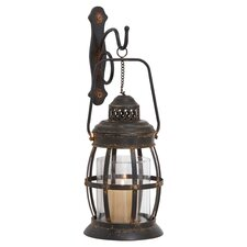 Bolton Metal Lantern in Dark Bronze