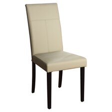Bettga Parsons Chair in Light Grey