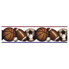 Play Ball Peel & Stick Wall Border