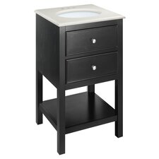 "Wilmington 20"" Vanity in Black"
