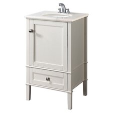 "Chelsea 20"" Vanity Set in White"