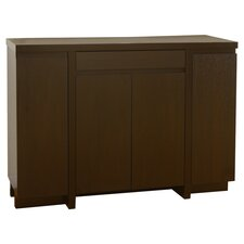 Logan Buffet Cabinet in Cappuccino