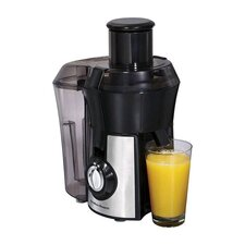 Juicer in Black & Stainless Steel