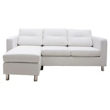 Convertible Sofa in White
