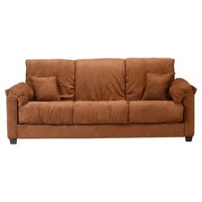 Convert-a-Couch Sleeper Sofa in Brown