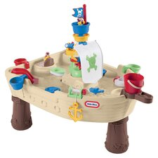 Anchors Away Pirate Ship Set in Tan