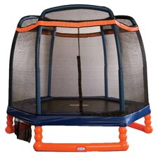 Aria 7' Trampoline & Enclosure Set in Orange
