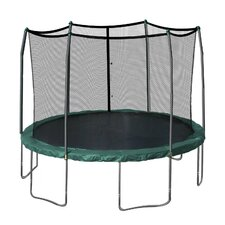 15' Trampoline & Enclosure Set in Green