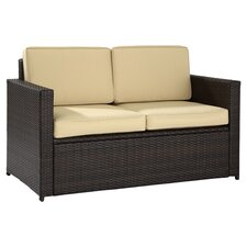 Palm Harbor Loveseat in Espresso