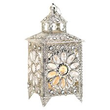Glamorous Table Lantern in Silver