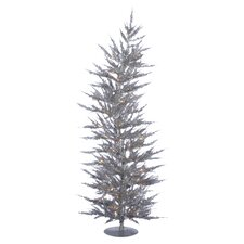 Pre-Lit  5' Christmas Tree in Silver