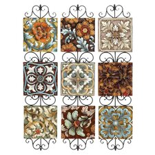Toscana 3 Piece Assorted Plate Wall Décor Set