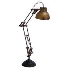 Revival Table Lamp in Antique Bronze